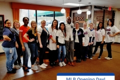 Staff Celebrates MLB Opening Day 2018